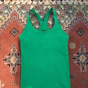 Lululemon Tank Top Kelly Green